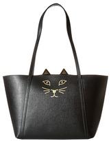 Charlotte Olympia Mini Feline Shopper Handbags