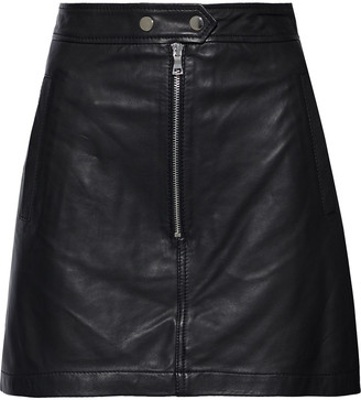 Marissa Webb Alexander Leather Mini Skirt