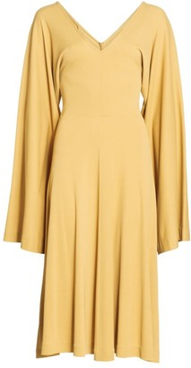 Totême Bolbec Bell Sleeve Dress