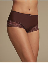 M&S Collection 2 Pack Light Control Brazilian Knickers
