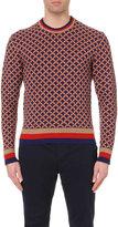 Gucci Jacquard-knit Wool-blend Jumper
