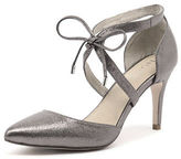 Nude New Avery Pewter Womens Shoes Dress Shoes Heeled