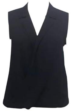 Alfani Sleeveless Collared Top, Created for Macy's