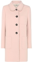 Miu Miu Crêpe Wool Coat