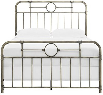 Laurel Foundry Modern Farmhouse Wilhelmina Standard Bed Size: Queen, Color: Bronze