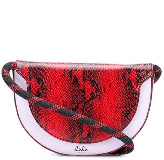 Lala Berlin Aileen half-moon crossbody bag