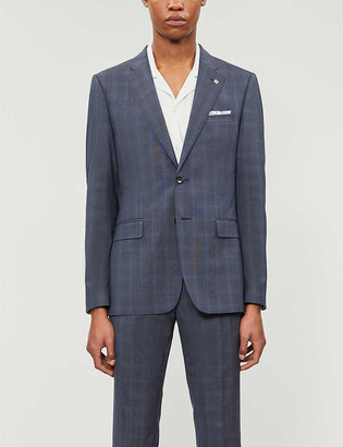 Ted Baker Debonair fashion-fit wool blazer