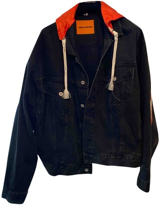 Heron Preston Black Denim - Jeans Jackets