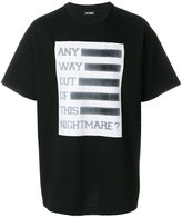 Raf Simons square print T-shirt