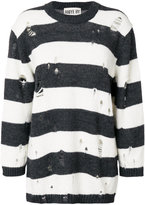 Aniye By distressed stripe jumper