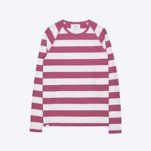 Makia Mauve White Keel Long Sleeve - S - Pink/White
