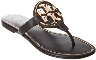 Tory Burch Metal Miller Leather Sandal