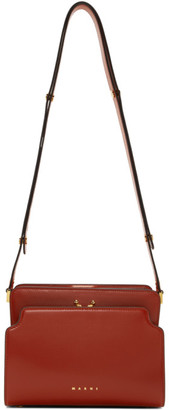 Marni Red Trunk Reverse Bag