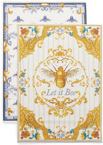 Marks and Spencer Set of 2 Ardingly Bee's Tea Towels