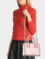 Karl Lagerfeld K/Klassik Mini Tote Bag in Pink Saffiano