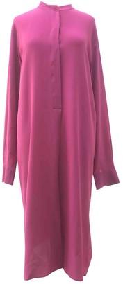 Maison Margiela Pink Silk Dresses