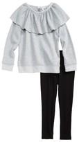 Splendid Toddler Girl's Sweatshirt & Leggings Set