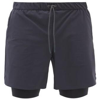 Jacques - Drawstring Performance Shorts - Navy Multi