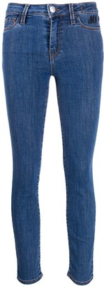 Twin-Set Low-Waist Skinny Jeans