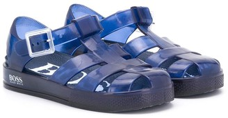 Boss Kidswear Strappy Jelly Shoes
