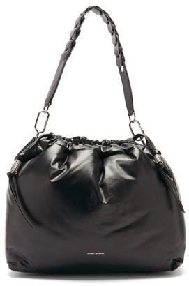 Isabel Marant Baggara Leather Shoulder Bag - Black