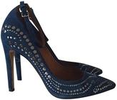 Isabel Marant Blue Suede Shoes