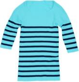 Tees by Tina Nautical Stripe 3/4 Sleeve