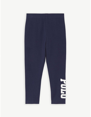 Ralph Lauren Logo print cotton leggings 2-6 years