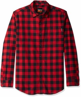 Timberland Men's R-Value Flannel Work Shirt