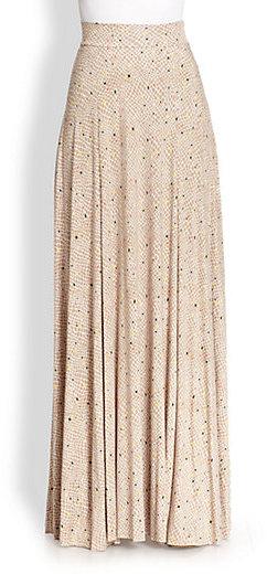 Rachel Pally Josephine Printed Stretch Jersey Maxi Skirt