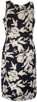 Ann Taylor Multicolour Silk Dress for Women Vintage