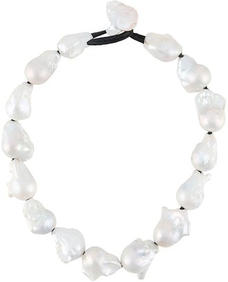 Monies Jewellery Pearl-Embellished Necklace