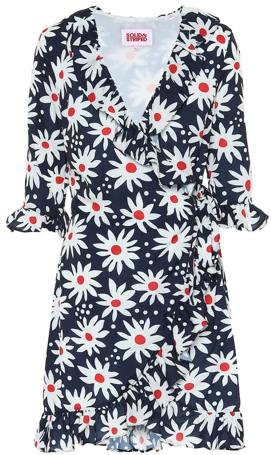Solid & Striped Exclusive to Mytheresa floral wrap dress