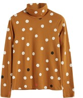 Parker Chinti & Ginger Painted Spot Long Sleeve Cotton T-shirt