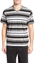 Majestic Stripe V-Neck T-Shirt