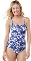 Lands'end Women's Shaping Scoop One Piece Swimsuit
