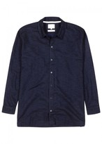 Norse Projects Nohr Navy Cotton Blend Shirt