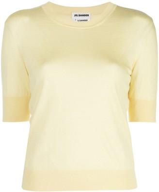 Jil Sander cashmere-blend T-shirt