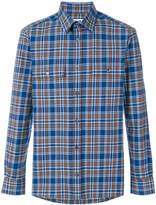 MSGM plaid long-sleeved shirt