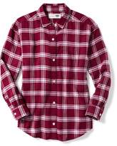 Old Navy Plaid Flannel Boyfriend Tunic for Girls