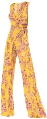 Alexis Kamiko Floral Wide-Leg Jumpsuit