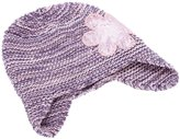 Peppercorn Kids Sequin Flower Beanie - Pink-XL (6-8+ Years)
