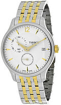 Tissot T0636392203700 Men's Tradition SS and Gold-Tone SS Silver-Tone Dial