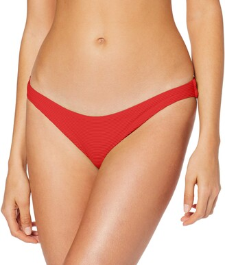 Seafolly Women's Essentials High Cut Bikini Bottoms