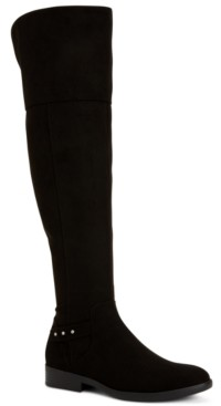 Style&Co. Style & Co Lessah Wide-Calf Over-The-Knee Boots, Created for Macy's Women's Shoes