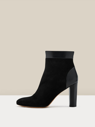 Diane von Furstenberg Daphne Kid Suede Ankle Boots