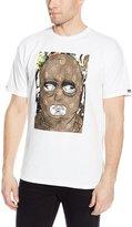 Crooks & Castles Men's Knit Crew T-Shirt - Abstract Bandit