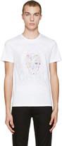 Alexander McQueen White Skull T-shirt