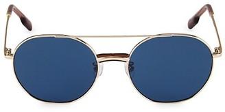 Kenzo 54MM Round Metal Sunglasses