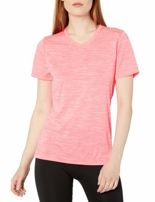 Charles River Apparel Women's Space Dye Moisture Wicking Performance Tee